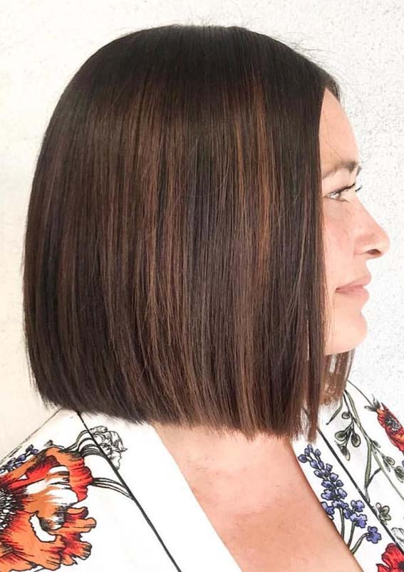 Perfect Blunt Bob Haircuts to Wear in 2019