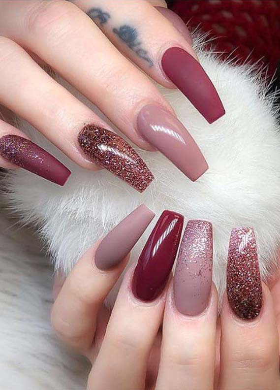 Pretty Long Nail Designs for Every Woman 2019