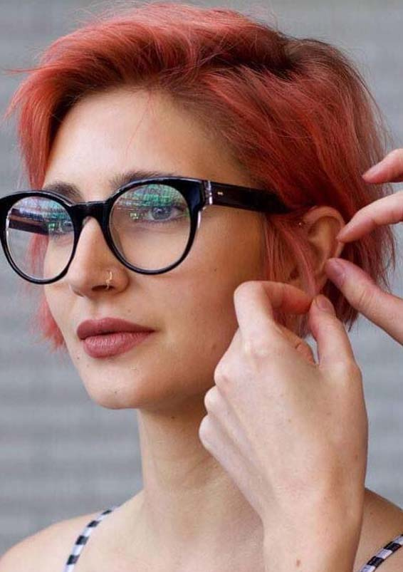 Hottest Short Red Haircut Ideas For Women In 2019 Stylezco