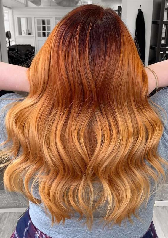 Stunning Red Copper Hair Color Ideas in 2019