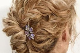 Texture Updo Hairstyles Trends for Bridal Girls In 2019
