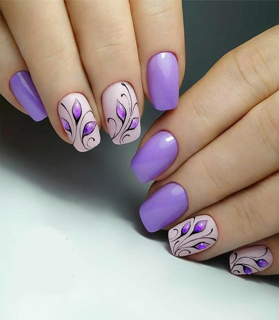 Best Purple Nails Ideas You Should Try Now
