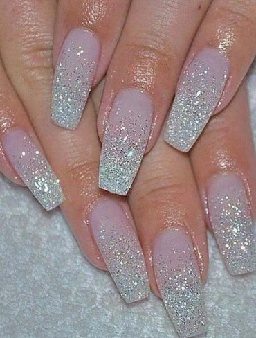Glitter Nail Art Designs for 2019