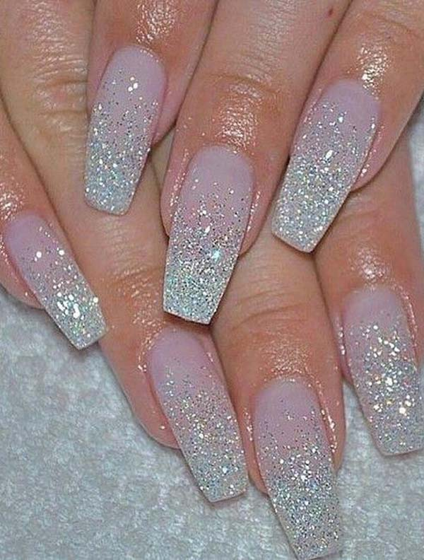 Gorgeous Glitter Nail Art Designs to Show Off in 2019 | Stylezco
