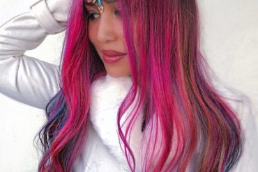 Incredible Pink Hair Color Styles & Shades in 2019