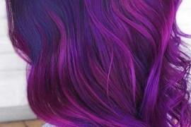 Purple Violet Hair Color Ideas for 2019