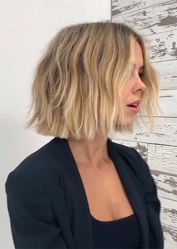 Blunt Bob Haircuts to Create in 2019
