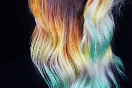 Charming Hair Color Highlights for Long Hair