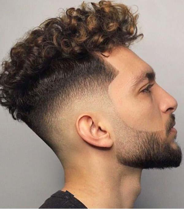 Coolest Curly Haircuts and Hairstyles Ideas for Men 2019