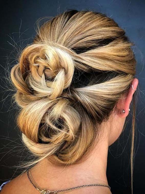 Creative Double Knotted Bun Styles for 2019