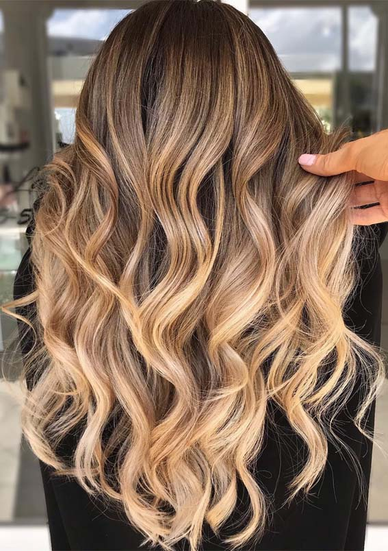 Best Dimensional Balayage Ombre Hair Color Ideas For 2019
