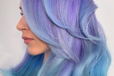 Elegant Rainbow Hair Color Ideas for Girls