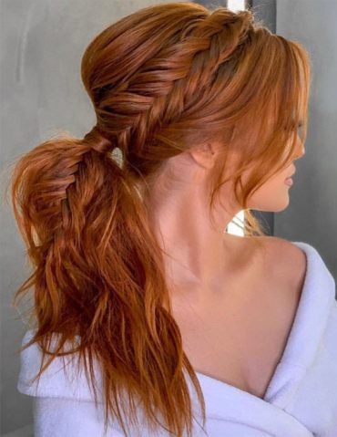 Excellent Braided Ponytail Hairstyles for 2019