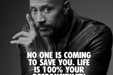 No one is Coming to save you - Powerful Life Quotes