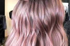 Soft Dimensional Pink Hair for Wedding In 2019