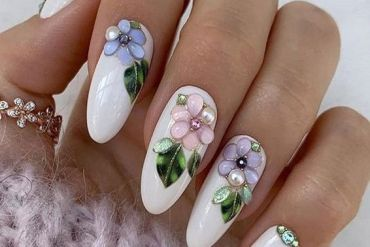Stylish White Nail Art Designs You Should Try Now