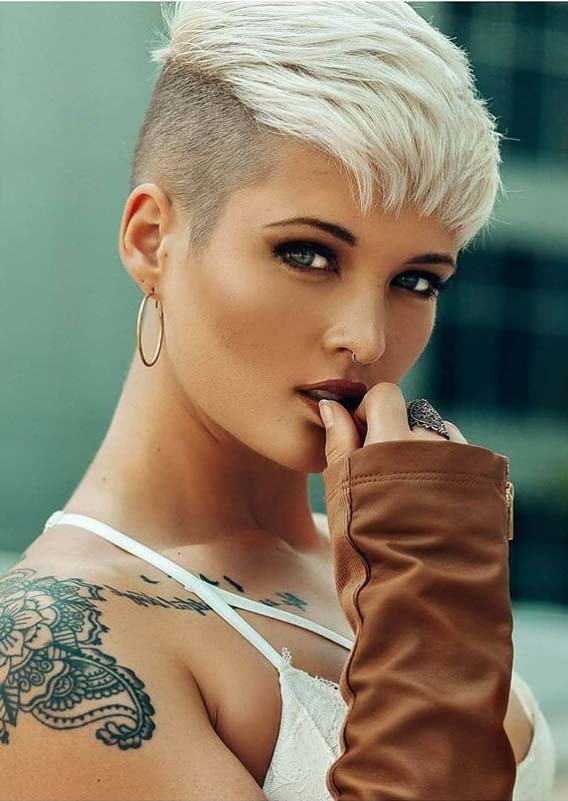 Adorable Blonde Pixie Haircuts for 2019