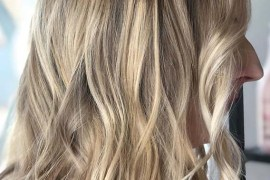 Dimensional Blonde Waves Haircuts for 2019