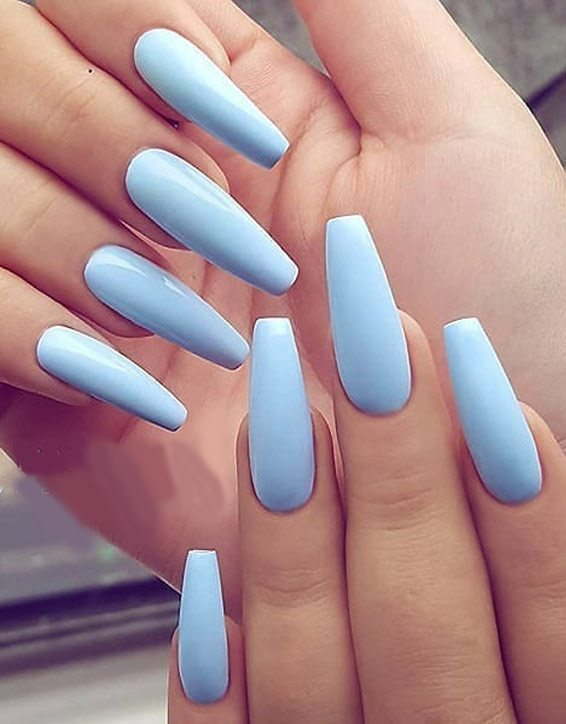 Fascinating Nail Designs for Long Nails In 2019