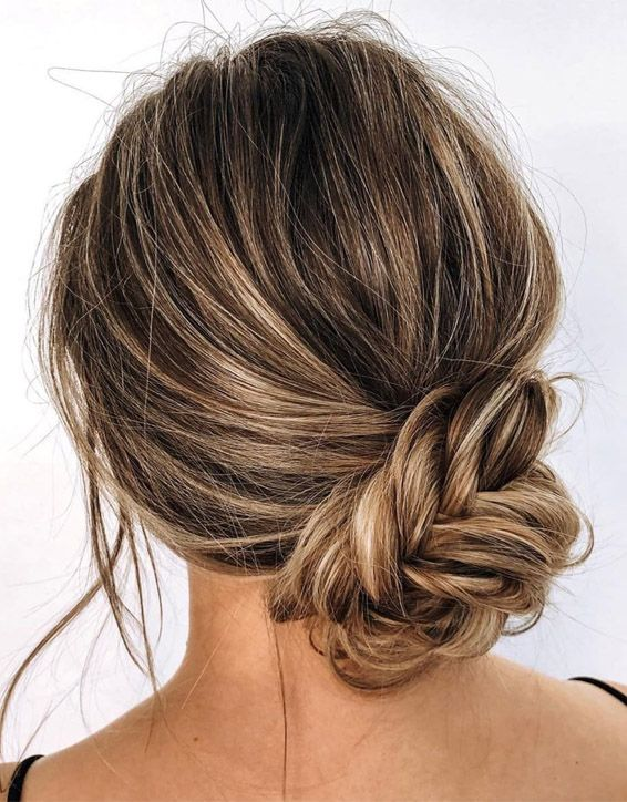 Fishtail Bun Hair Trends for Cute Girls In 2019
