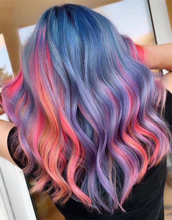 Fresh Hair Color Trends & Highlights for Spring Season