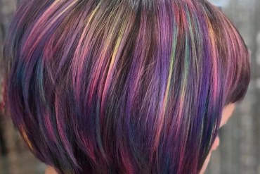 Awesome Rainbow babylights hair colors for 2019