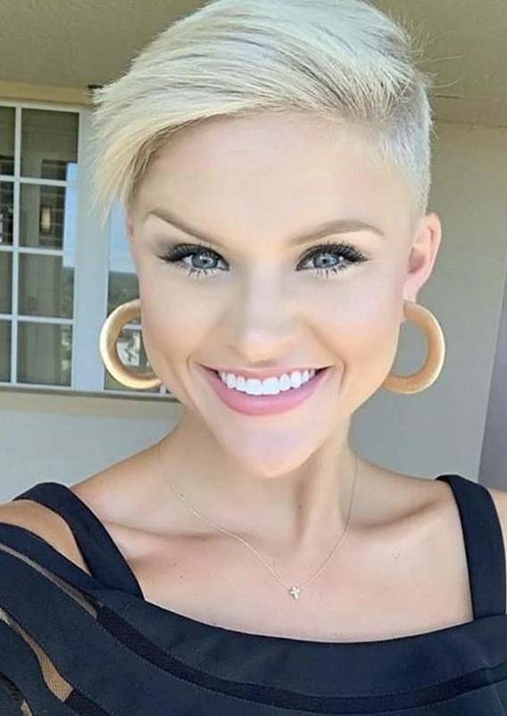 Unique Styles Of Pixie Blonde Haircuts for 2019