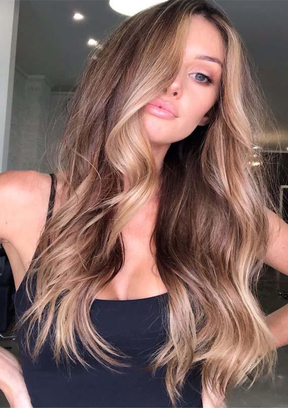 Fantastic bronde hair colors for long hair in Year 2019