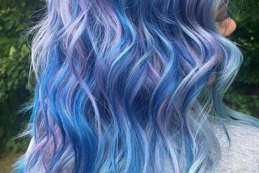 Awesome Blue Hair Colors Highlights to Show Off in 2019