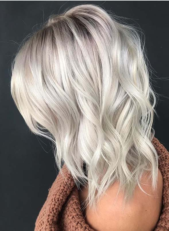 Best Ideas Of Platinum Blonde Hair Colors To Follow Nowadays Stylezco