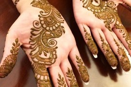 Cute Fresh Mehndi Designs for Women 2019