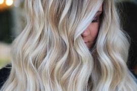 Stunning Blonde and Balayage Hair Colors Combo in 2019