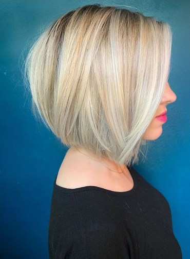Brightest Bob Cuts with Blonde Shades for Women in 2020