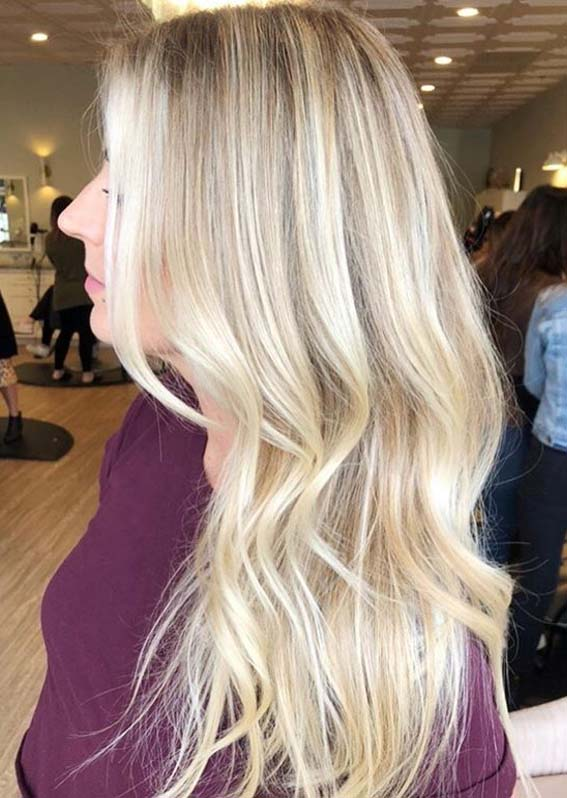 Bright Blonde Hair Colors for Long Hair in Year 2020