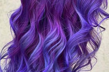 Bright Blue Hair Colors and Hairstyles for Women 2020
