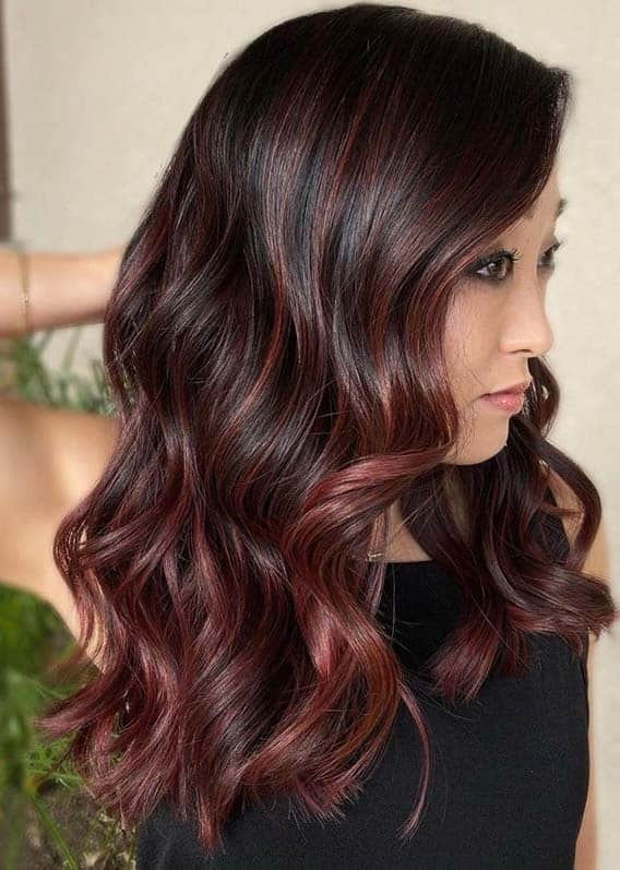 Burgundy Hair Color Trends for Women to Show Off Nowadays