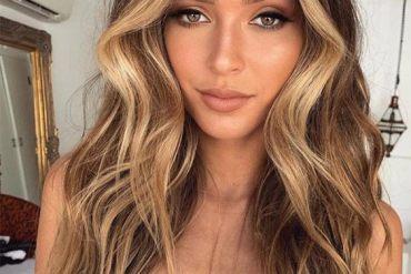 Romantic Brown Hair Color & Shades for Long Hair