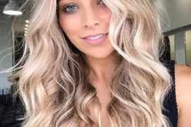 Super Cute Face Framing Blonde Balayage Hair for 2020