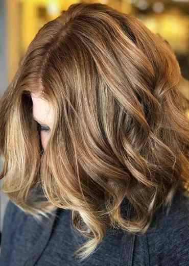 fiery Lob haircuts for women to show Off in 2020