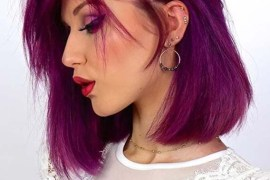 Obsessed Purple Hair Color Shades for Women in Year 2020