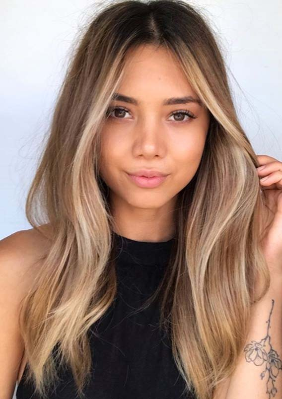 Awesome Face Framing Balayage Hairstyles for Long Hair in 2020