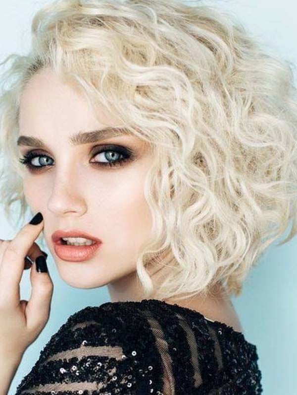 Amazing Short Curly Haircut Styles to Show Off in 2020