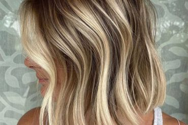 Dimensional Balayage Blunt Hair Trends for Stylish Look