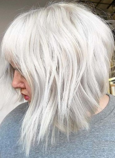 Latest Platinum Blonde Hair Color Trends to Show Off in 2020