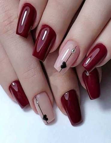Awesome Style of Red Nails to Copy Right Now