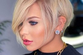 Most Stunning Ideas of Short Hair Highlights for 2020 Girls