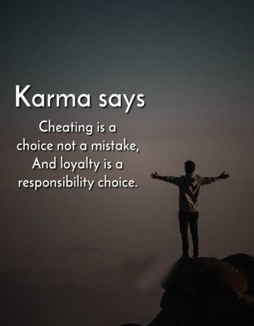 Cheating is a Choice not a Mistake - Best Loyalty Quotes