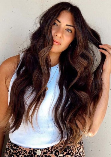 Modern darker chestnut hair Color Tones for Women 2020
