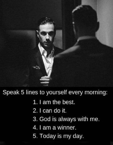 Speak 5 Lines to Yourself - Best Morning Quotes