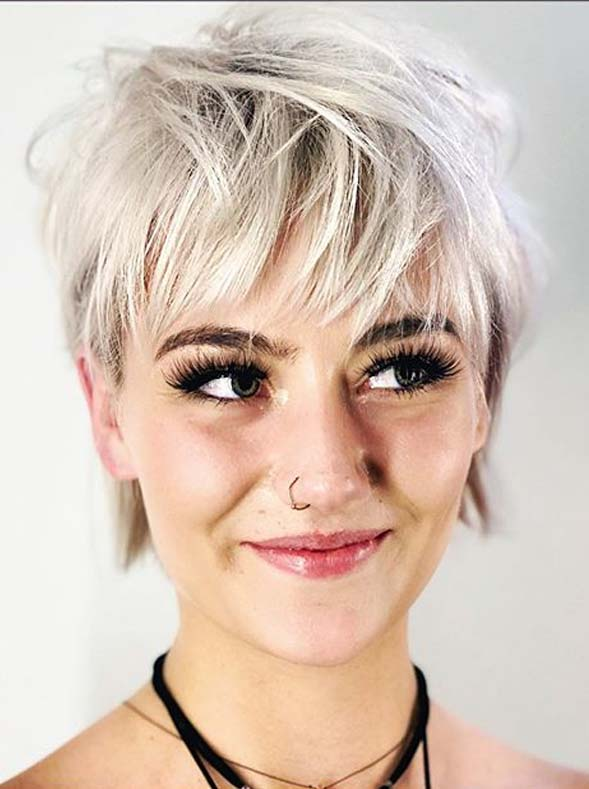 Awesome razor Pixie Haircuts for Girls in Year 2020
